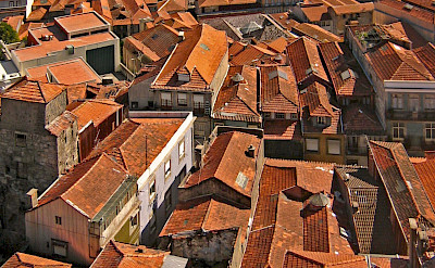 The red roofs of Porto on Douro River in Portugal. Flickr:Harshil Shah