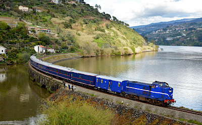 Train from Pinhao in Portugal. Flickr:Nelso Silva