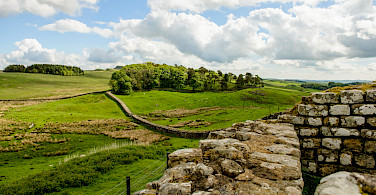 Housesteads Roman Fort along Hadrian's Wall in England. Flickr:Son of Groucho
