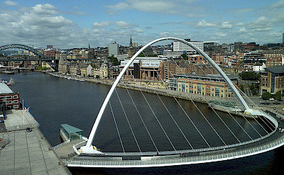 Tyne Bridge in Newscastle, England. Creative Commons:JimmyGuano