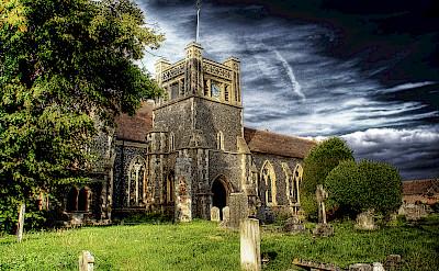 Walton Church along Hadrian's Wall Hike Tour in England. Flickr:Steve Arnold