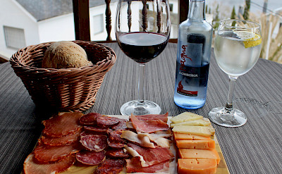 Tasty delicacies to try along the Camino de Santiago Hiking Tour. Flickr:subherwal