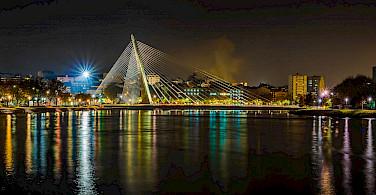 Evening in Pontevedra, Spain on the Iberian Peninsula. Flickr:Gabriel Gonzalez