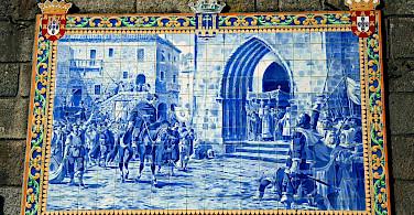 Great tile murals in Ponte de Lima in northern Portugal. Flickr:Vitor Oliveira