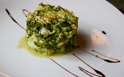 Spanish cuisine not to be missed in Santiago de Compostela, Spain. Flickr:Hotel Gastronomico Casa Rosalia