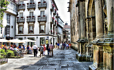 Walking the streets of Santiago de Compostela in Spain. Flickr:Jose Luis Cernadas Iglesias