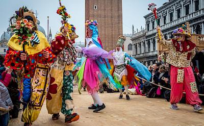 Ballad of the Masks in Venice, Veneto, Italy. Flickr:Sergey Galyonkin