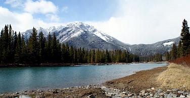 Mountains near Banff. Photo via Flickr: melandory