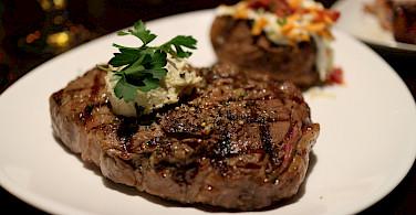 Ribeye Steak raised in Alberta! Photo via Flickr: Elsie Hui