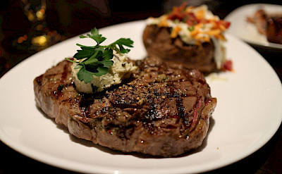Ribeye Steak raised in Alberta! Flickr:Elsie Hui