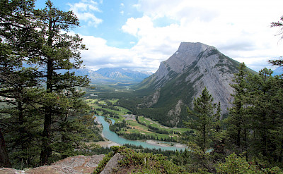 Scenic view of Banff, Alberta, Canada. Flickr:thankyou