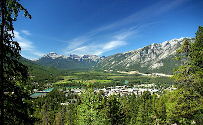 Scenic view of Banff, Alberta, Canada. CC:Jirieischmann