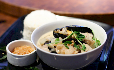 Seafood fricasse in Canada. Flickr:Geoff Peters