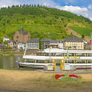 Pano of Cochem along the Mosel River in Germany. Flickr:Frans Berkelaar
