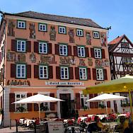 Bike rest in Eberbach, Germany. Wikimedia Commons.