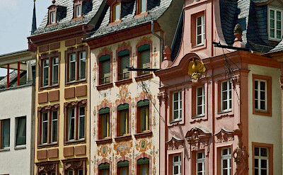 Gorgeous architecture in Mainz, Germany. Flickr:Compte Dartagnan