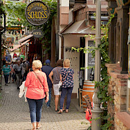 Shopping in Rudesheim, Germany. Flickr:Duane Huff