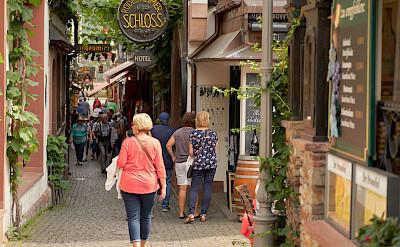 Shopping in Rudesheim, Germany. Flickr:Duane Huff