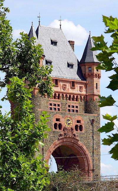 Nibelungen Bridge over the Rhine River in Worms, Germany. Flickr:Dirk Wessner