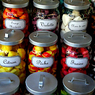 Candy store in Beaune, France. Flickr:Pug Girl