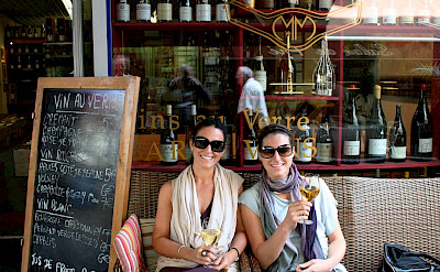 Wine tasting in Beaune, Burgundy, France. Flickr:Megan Mallen