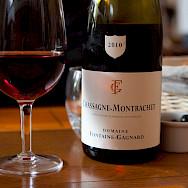 Chassagne-Montrachet wine in Beaune, Burgundy, France. Flickr:Isabel