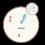 Burgundy Wine Trail Map