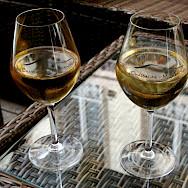 Chassagne-Montrachet Chardonnay, a local wine from Chassagne-Montrachet, Burgundy, France. Flickr:Megan Cole