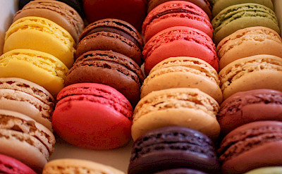 The French are known for their macarons. Creative Commons:Sunny Ripert