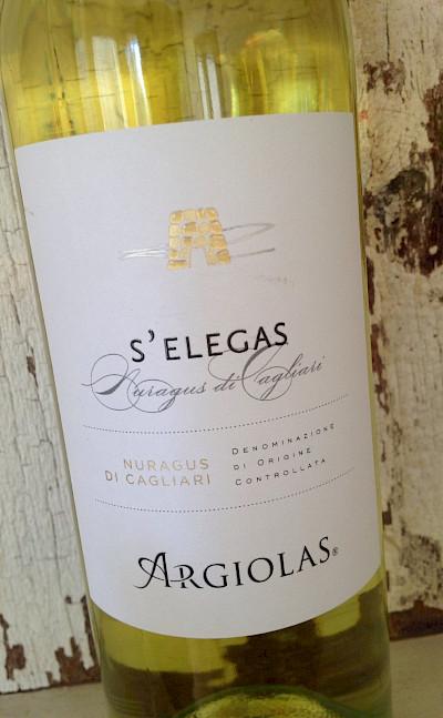 Local Sardinian Argiolas wines to try. Flickr:Jameson Fink