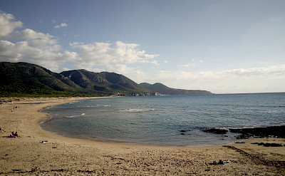 Along the coast, perhaps some swimming while hiking the Costa Verde Walking Tour in Sardinia, Italy.