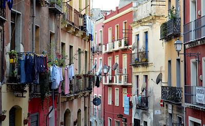 Walking the streets in Cagliari, Sardinia, Italy. Flickr:Simon Blackley