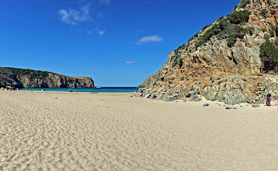 Great beaches on this Costa Verde Walking Tour in Sardinia, Italy.