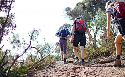 Hiking the Costa Verde (Green Coast) in Sardinia, Italy.