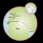 Costa Verde - Sardinia Map