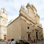 Cathedral in Gallipoli, Italy. Wikimedia Commons:Matthias Kabel