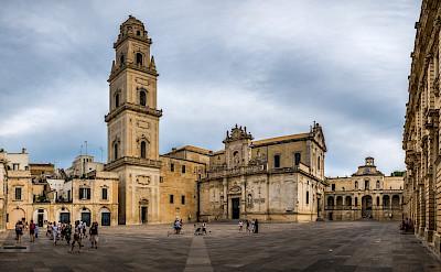 Piazza del Duomo in Lecce, Puglia, Italy. Flickr:Giuseppe Milo