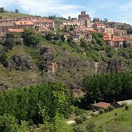 Many historic villages en route on the Segovia Spain Hike Tour. Photo via TO
