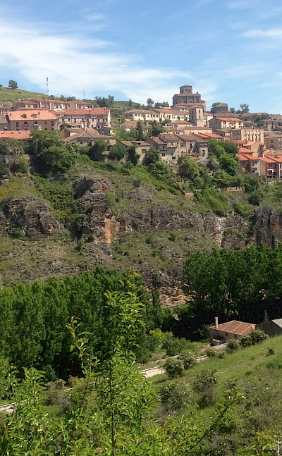 Many historic villages en route on the Segovia Spain Hike Tour. Photo via TO