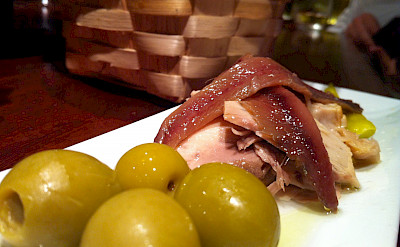 Olives with tapas in Spain. Flickr:Jeremy Keith