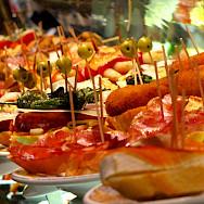 Tapas in Spain is sooo good! Creative Commons:Celemaki