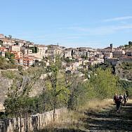 Walking in Sepulveda, Spain. Photo via TO