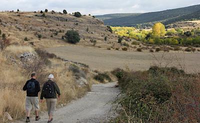 Enjoying the Segovia Spain Hiking Tour. Photo via TO
