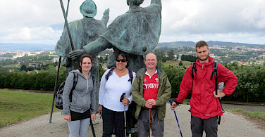 Hiking Camino de Santiago in Spain. Photo via TO