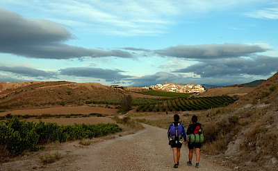 Hiking Camino de Santiago in Spain. Flickr:Staffan Andersson