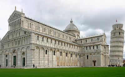 Cathedral & Campanile on Piazza dei Miracoli in Pisa, Tuscany, Italy. CC: © José Luiz Bernardes Ribeiro