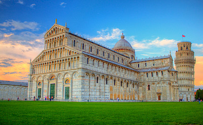 The famous buildings of Pisa, Tuscany, Italy. Flickr:Jiuguang Wang