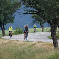 Beautiful biking in Tuscany, Italy.