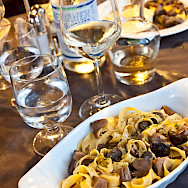 Delicious food in Tuscany, Italy!