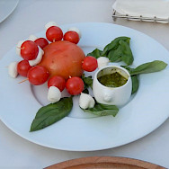 Italy has some of the best food! Tuscany Italy Bike Tour.